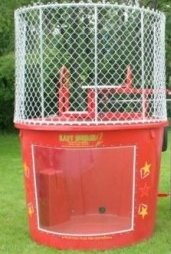 Red Dunk Tank 500 Gallon 250lb Weight Limit