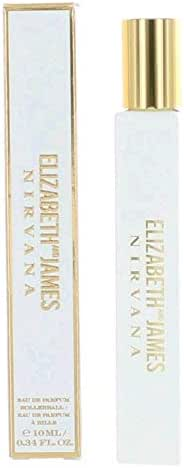 Elizabeth and James Nirvana White For Her Eau de Parfum Rollerball, 0.34 Ounce