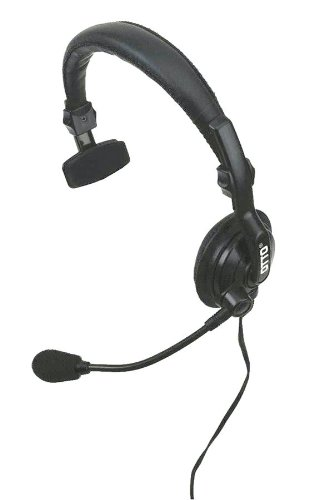 Headset, Over The Head, On Ear, Black, PTT by OTTO (Image #1)