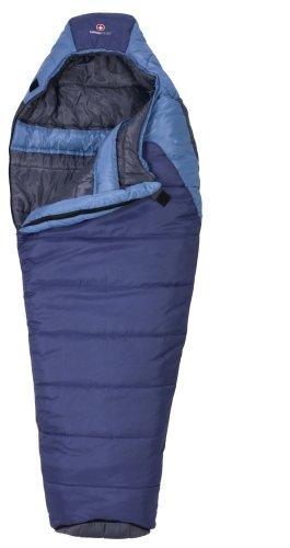 Swiss Gear Salzburg 10-Degree Mummy Sleeping Bag (Royal/Light Blue)