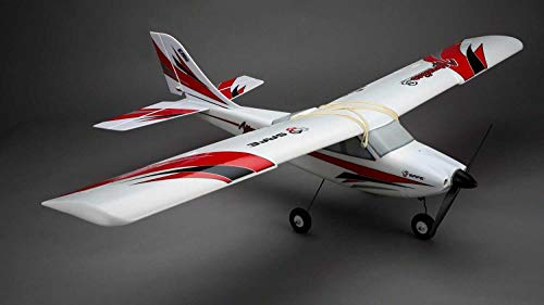 E-flite Apprentice S 15E RC Airplane Rtf with Safe Technology | DXe Radio Tx | Safe RX | 30A Bec Brushless ESC | 3S 3200mAh 20C Lipo Battery | DC Charger ()