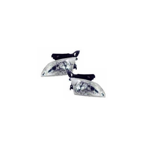 Chevy Cavalier Headlights Headlamps Oe Style Replacement Driver Passenger Pai