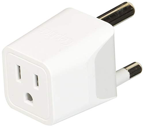 Ceptics CTU-10L USA to South Africa Travel Adapter Plug With Dual USB - Type M - Ultra Compact...