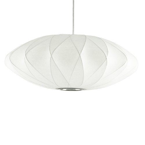 George Nelson Bubble Lamps Criss Cross Saucer Lamp
