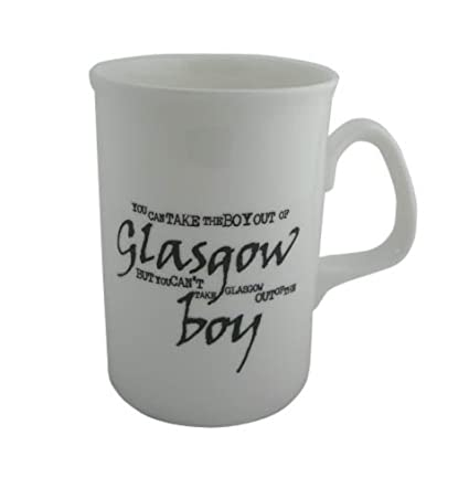 None Dialect Mug Glasgow Boy