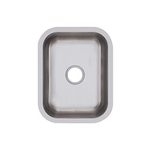 (Elkay DXUH1318 Dayton Single Bowl Undermount Stainless Steel Bar Sink)