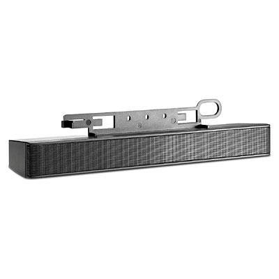HP NQ576AT LCD Speaker Bar - Speaker - for HP 100, LA1905, LA22, LE19, ZR22, ZR24, ZR30, DreamColor LP2480, Smart Zero Client t410