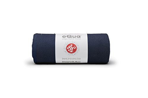 Manduka eQua Yoga Hand Towel, Midnight
