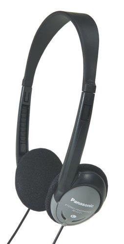 Panasonic (RP-HT21) 10-Pack Lightweight Headphones with (Panasonic Rp Ht21 Lightweight Headphones)