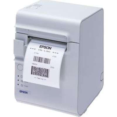 EPSON C31C412416 L90 Plus, Thermal Label Printer, No CD, Grey, Serial/USB, with Power (L90 Thermal Printer)