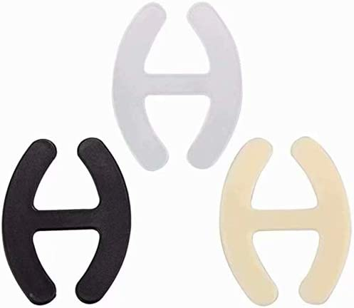 HANBIN 20pcs clips de sangle de soutien-gorge sangle d/épaule boucles anti-d/érapantes bretelles dissimul/ées pour dos nageur femmes bretelles de soutien-gorge clips de contr/ôle de support boucles