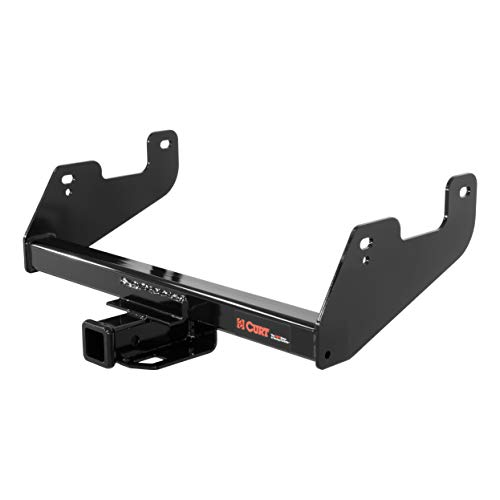 CURT 14017 Class 4 Trailer Hitch Receiver Black 2-Inch Select Ford F-150