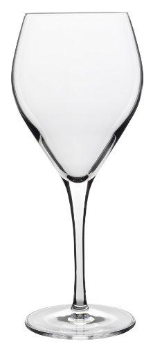 Italian White Wine - Luigi Bormioli 10409/02 Atelier 11.75 oz White Wine Glass, Clear