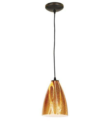 Access Lighting 28825-ORB/AMZ Tali Safari Italian Art Glass