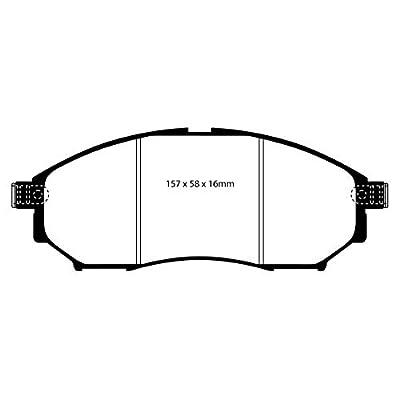 EBC Brakes DP31671C Redstuff Ceramic Low Dust Brake Pad: Automotive
