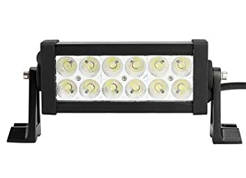 Lifetime LED Lights 7.5 Inch 12 LED Light Bar   60 Degree Floodlight