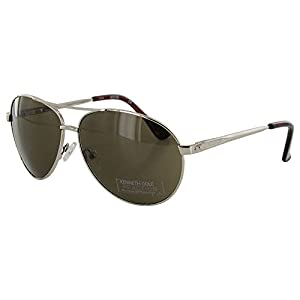 Kenneth Cole Reaction 'KC1184' Aviator Sunglasses, Gold/Brown
