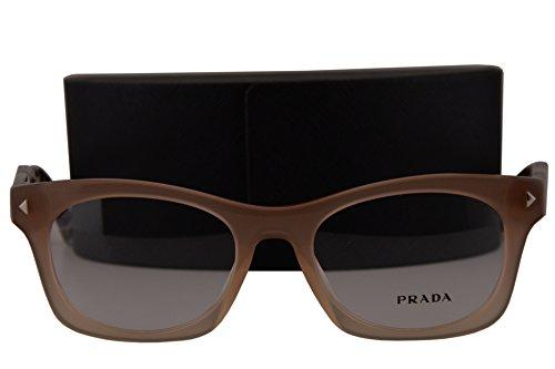 Prada PR11SV Eyeglasses 51-19-140 Brown Gradient UBI1O1 VPR11S For - Wayfarer Prada