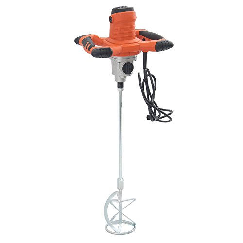 ARKSEN© Electric Cement Grout Mortar Mixer, Variable 6 Speed, 1600W