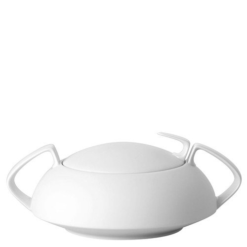 Vegetable Bowl, Covered, 54 ounce | TAC 02 Skin - Silhouette Rosenthal