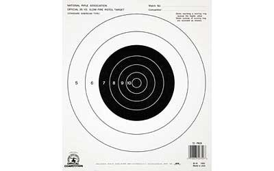 - Champion Traps and Targets, B16 Pistol Slow Fire 25 Yard, (Per 100)