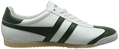Homme Leather Gola Blanc Green Winter 50 White Baskets Harrier EwwqprIB