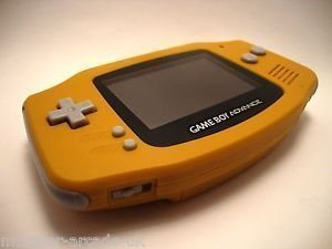 Nintendo Gameboy Advance Spice Orange Japan Only Edition