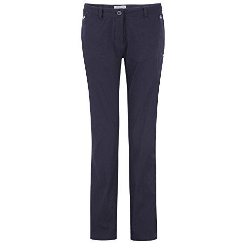 Craghoppers - Pantalones elásticos modelo Kiwi para mujer (40R/Azul oscuro)