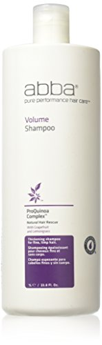 ABBA by ABBA Pure & Natural Hair Care VOLUMIZING SHAMPOO 33.8 OZ for (Performance Volumizing)