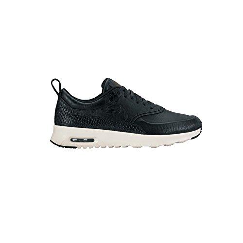 Nike Vrouwen Wmns Air Max Thea Lx, Zwart / Zwart-ivoor Zwart / Zwart-ivoor