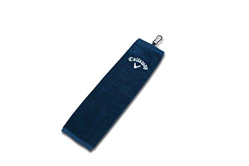 Callaway Tri-Fold Towel, Navy