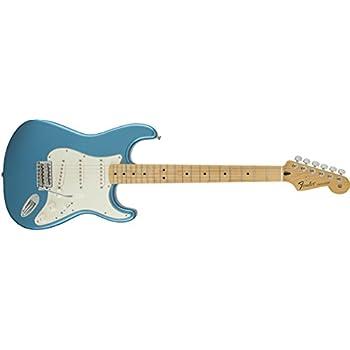 Fender Standard Stratocaster Electric Guitar - Maple Fingerboard, Lake Placid Blue