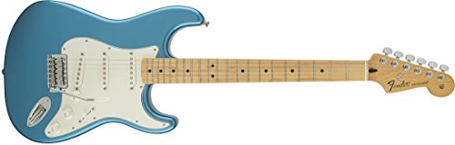 Fender Standard Stratocaster Electric Guitar - Maple Fingerboard, Lake Placid Blue