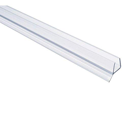 SHOWERDOORDIRECT Frameless Shower Door Seal for 3/8-Inch Glass, - 3/8 Thick Doors