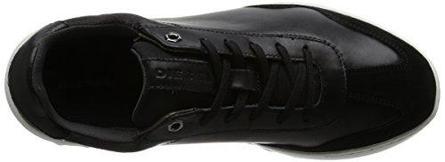 Diesel S Castlerock Studshean Baskets Homme Black Noir qUx0qA8O