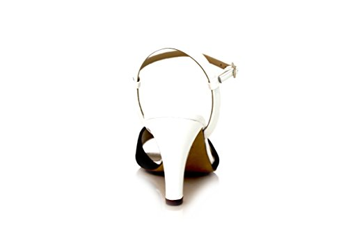 Diamond Heels - Sandalias de Punta Descubierta Mujer