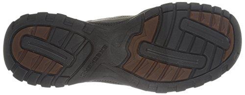 Skechers Usa Mens Vorlez Fontes Instappers Loafer Zwart