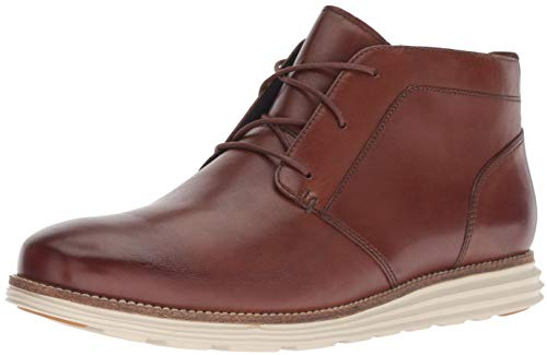 Cole Haan Men's Original Grand Chukka Boot, Woodbury/Ivory, 15 W US
