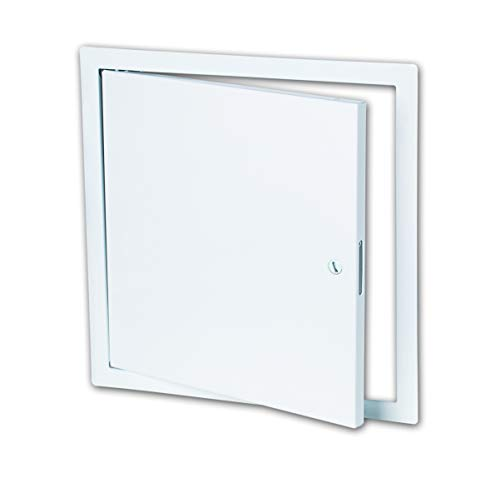 10x10 inch, Metal Access Door with a Flush Screwdriver operated Cam Latch closure for Walls and Ceilings, B1-series