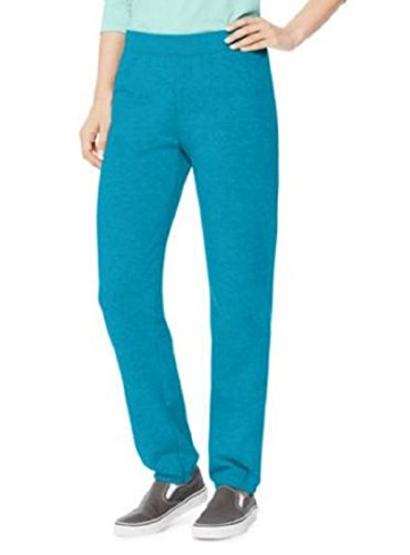 Hanes Women's Mid Rise Cinch Bottom Fleece Sweatpant,Bold Blue, XX-Large