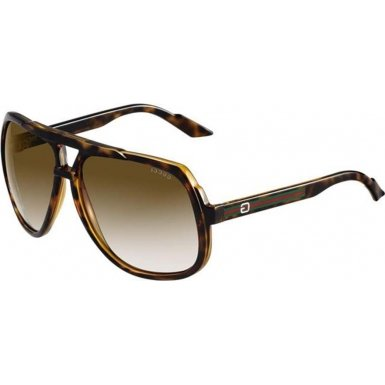 Gucci GG1622/S Sunglasses 0791 Havana (9M Pink Orange Gradient Lens) - Sunglasses Brands Swiss