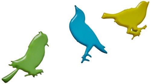 Eyelet Outlet Shape Brads-Sitting Bird Bright