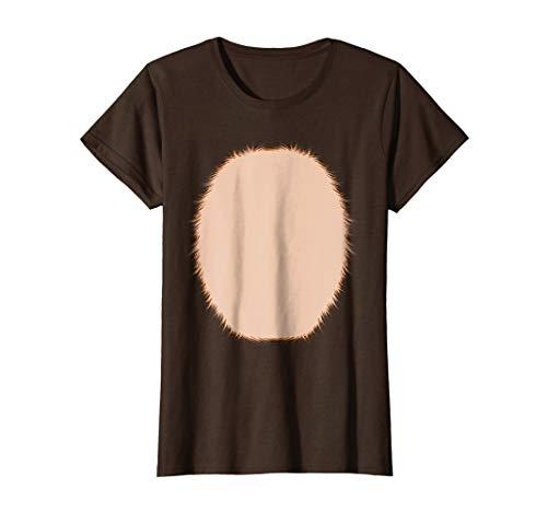Womens Christmas Reindeer Costume Shirt for Adults Kids Girls Teens Small Brown