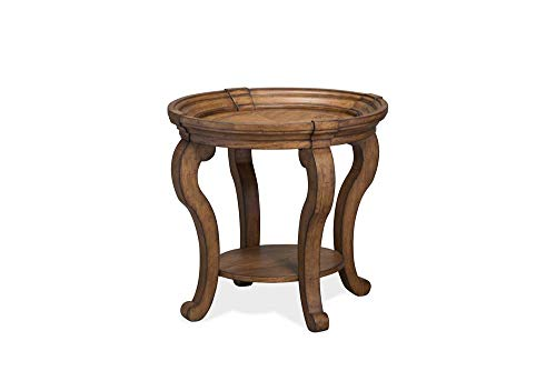 Magnussen T4712 Isabella Oval End Table ()