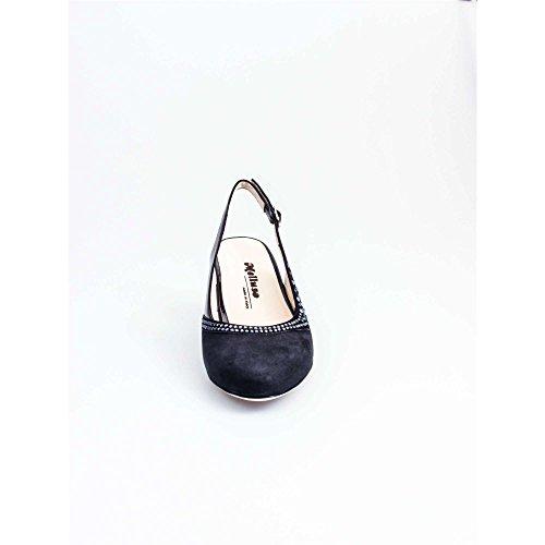 MELLUSO X560 Sandales Femme Blu Nuit 41