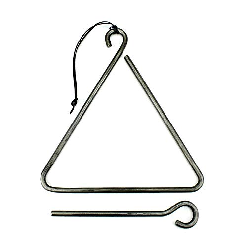 Forged Iron Bell - Forged Triangle Dinner Bell
