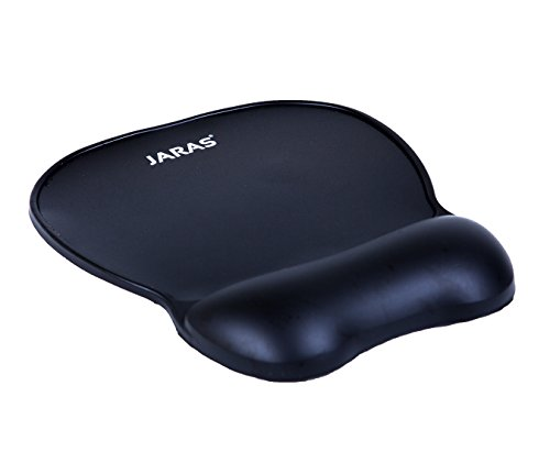 Jaras Comfort Gel Mouse Pad with Wrist Rest, Non-Skid Rubber...
