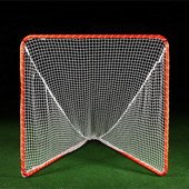 Brine Backyard Lacrosse Goal (Net Included), 6 x 6 x 7-Feet, Orange