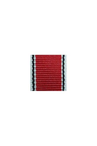 WWII German badge Cross 5th grade (Merit 3rd class) Medal of Merit in silver bar's ribbon ()