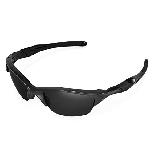 65f0d5c2f0 Walleva Replacement Lenses for Oakley Half Jacket 2.0 Sunglasses - Multiple  Options Available (Black -